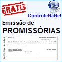 Controlenanet-Softwares online grátis, PROMISSORIAS. www.controlenanet.com.br