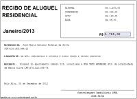 GRATIS RECIBOS DE BAIXAR ALUGUEL